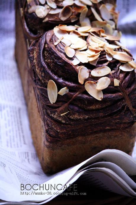 珈琲とチョコのパン