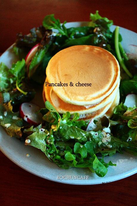 酵母のパンケーキ
